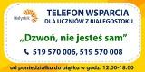 """Białystok. Słabe zainteresowanie akcją """"Dzwoń, nie jesteś sam"""". Miasto zapowiedziało, że nie będzie ją oceniać"""