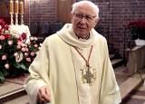 Jubileusz 60 lat kapłaństwa ks. infułata Tadeusza Nowickiego, Honorowego Obywatela Grudziądza  [zdjęcia]