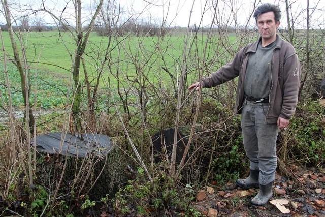 - Nigdy nawet nie pomyślałem, żeby ściąć to drzewo - zapewnia Jarosław Smoczyński