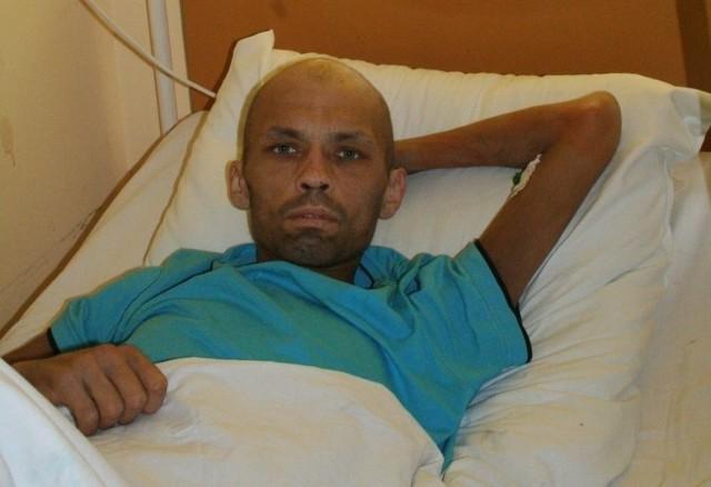 Roberta Zakrzewskiego odwiedziliśmy w środę w szpitalu