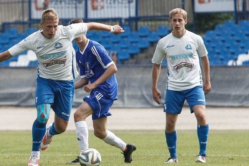 Sebastian Brocki strzelił gola w Lublinie, ale nie został uznany.