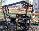 KROSNO ODRZAŃSKIE. Dzieci w wieku 12, 14 i 15 lat podpaliły drewniany domek na placu zabaw. Straty to niemal 8 tys. zł