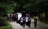 Pogrzeb Mateusza Tuczyńskiego. Zginął w wypadku drogowym. Pożegnali go sportowcy i kibice [zdjęcia]