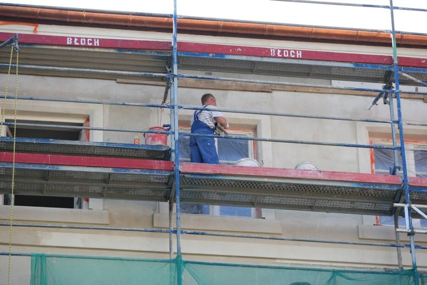 Generalny remont zabytkowego budynku zakończy się w 2021 r....
