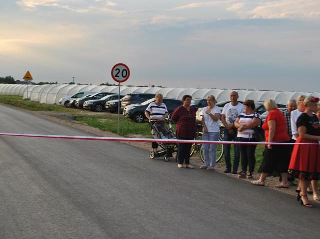 Droga powiatowa relacji Bukówno - Młodynie w gminie Radzanów już została przebudowana.