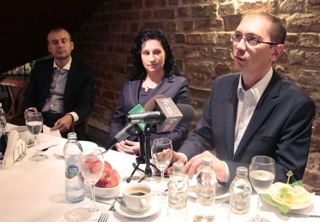 Łukasz Tyszler, kandydat na prezydenta Szczecina, deklarował większe wsparcie przedsiębiorców