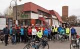 Turyści rowerowi przemierzyli szlak dawnych nadgoplańskich promów