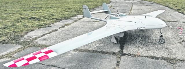 """Nowa """"Manta"""" z Gliwic. Jedyna taka na świecie  Dron Manta"""
