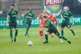 Górnik Łęczna zremisował z liderem Fortuna 1. Ligi po bardzo emocjonującym meczu. Zobacz zdjęcia