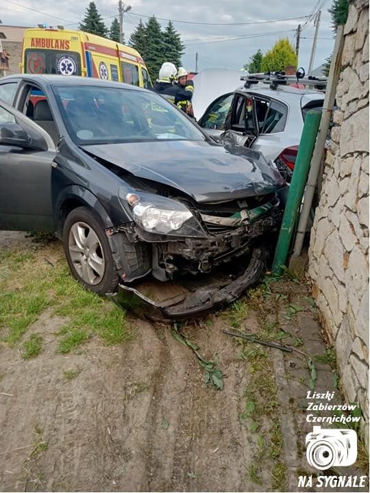 Wypadek w Liszkach