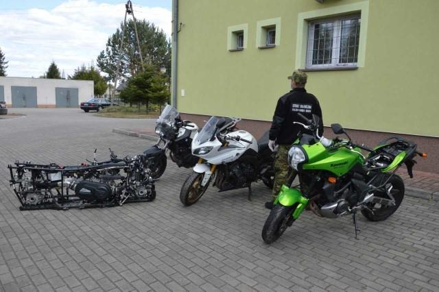 Obywatel Ukrainy ukradł motocykle w Niemczech.