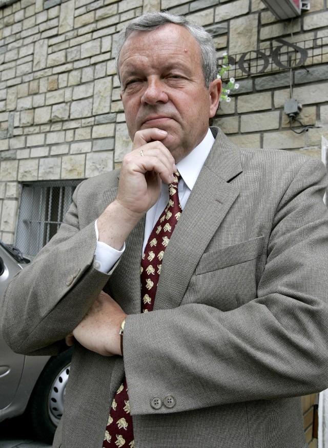 Marek Lenartowski był jedną z osób odpowiedzialnych za budowę