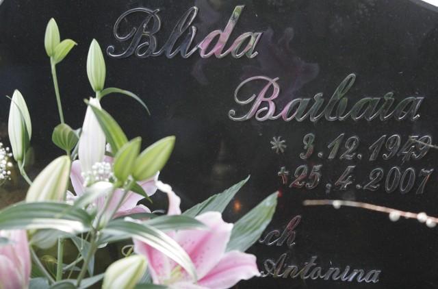 25.04.08 siemianowice slaskie rocznica smierci barbary blidy obchody na cmentarzu dziennik zachodni mikolaj suchan / polskapresse