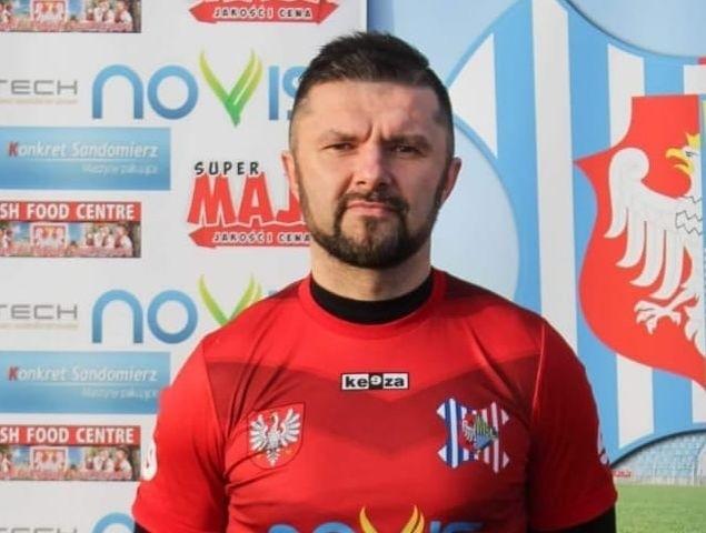 Trener Rafał Wójcik po zakończeniu tego sezonu żegna się z Wisłą Sandomierz.