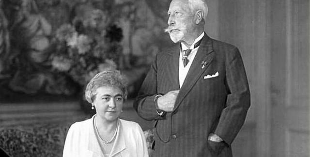 Hermine von Reuss wraz z cesarskim małżonkiem. Czy była to prawdziwa miłość, czy też... rozwaga?