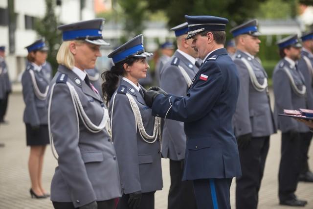 Komendant Szkoły Policji w Słupsku przechodzi na emeryturę