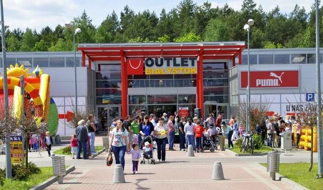 Outlet Białystok zostanie rozbudowany. Pierwsze prace ruszą jeszcze latem.