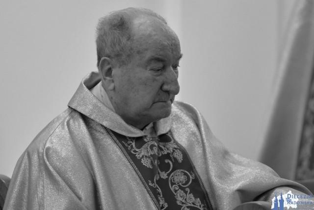 Ksiądz kanonik Stefan Sochaj zmarł w środę, 13 maja w wieku 87 lat.
