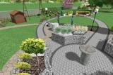 Feeria barw, smaków, zapachów i dźwięków – w Bełzowie trwa budowa Ogrodu Sensorycznego. Zobaczcie wizualizacje