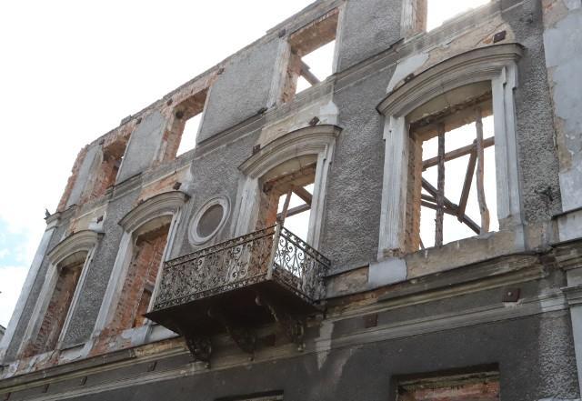 Budynek po dawnej szkole przy ulicy Słowackiego