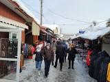Białystok. Bazar przy Kawaleryjskiej. Tu też są wyprzedaże i obniżki sezonowe. Idealne miejsce na zakupy bez tłoku (zdjęcia)