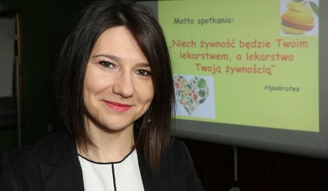 Kamila Sobaś, ekspert do spraw żywienia