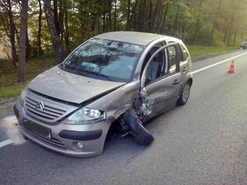 Wypadek w Gniszewie (gm. Tczew)