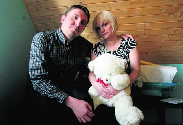 Śmierć własnego dziecka jest czymś niemożliwym do ogarnięcia - twierdzą  Ewelina i Michał