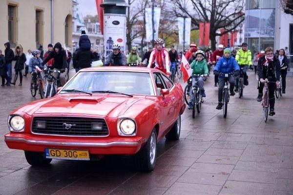 Rowerowa Parada Niepodległości w Sopocie