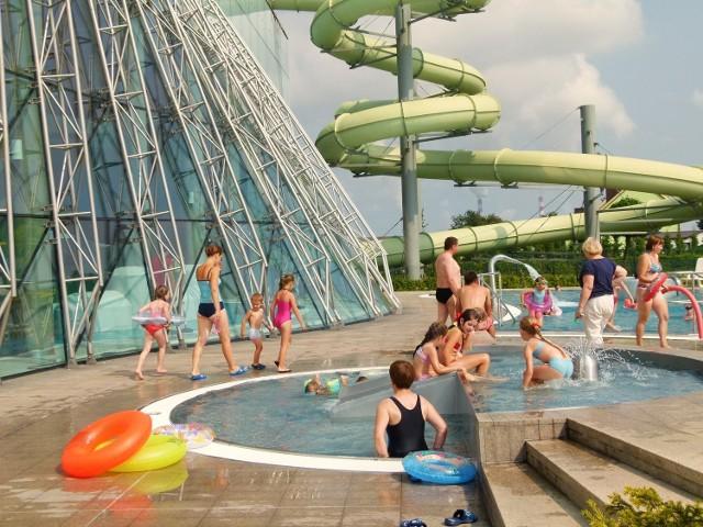 Solpark w Kleszczowie. Gorące źródła zaczynają wysychać. Co dalej z basenami geotermalnymi w Solparku?