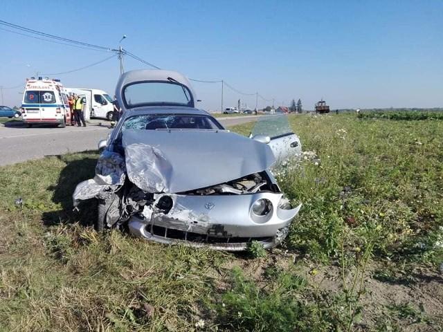 Do groźnie wyglądającego wypadku doszło w sobotę, w Brańsku na ul. Bielskiej.