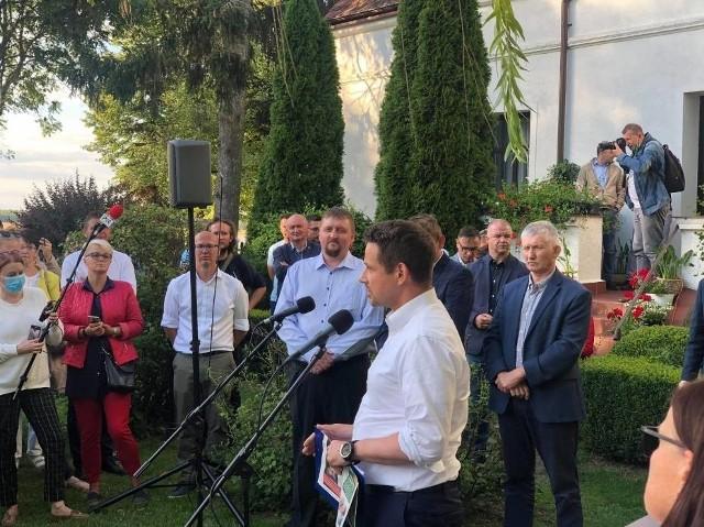 Tomasz Lepper poparł kandydaturę Rafała Trzaskowskiego w wyborach prezydenckich