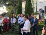 Wybory 2020. Tomasz Lepper poparł kandydaturę Rafała Trzaskowskiego przed II turą wyborów. Zobacz zdjęcia