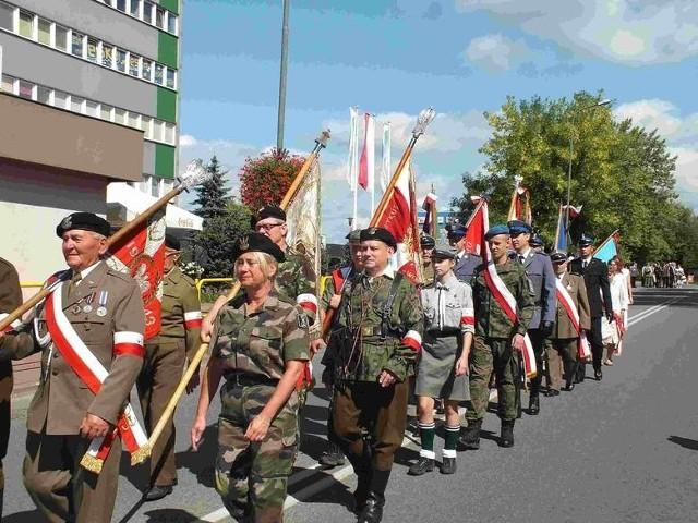 Główne uroczystości Dnia Wojska Polskiego w Starachowicach w 2018 roku