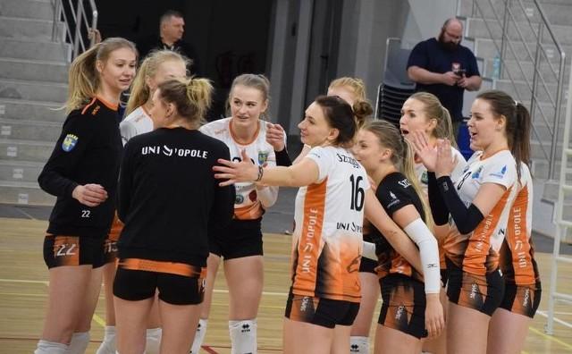 Uni Opole radzi sobie świetnie w 1 lidze.