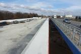 Przebudowa DK28 w Krośnie zbliża się do końca. Odcinek z nowym wiaduktem ma być gotowy w maju [ZDJĘCIA]