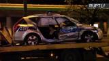 Warszawa: Wypadek radiowozu przy ul. Żwirki i Wigury. Zabezpieczał kolumnę BOR z szefem NATO [WIDEO]
