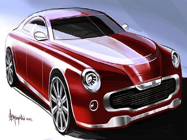 New Warsaw będzie luksusową limuzyną. Zdjęcie pochodzi ze strony internetowej projektu.