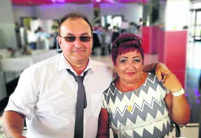 Józef Gawron (na zdjęciu z żoną Bożeną, z którą 30 sierpnia 2021 roku obchodziłby 40-lecie małżeństwa) wspierał finansowo Tigera od 15 lat