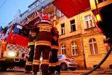 Interwencja straży pożarnej w hostelu na Przedmieściu Oławskim