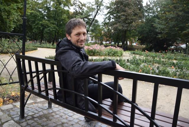 Projekt rewitalizacji parku przygotował Grzegorz Pronobis.