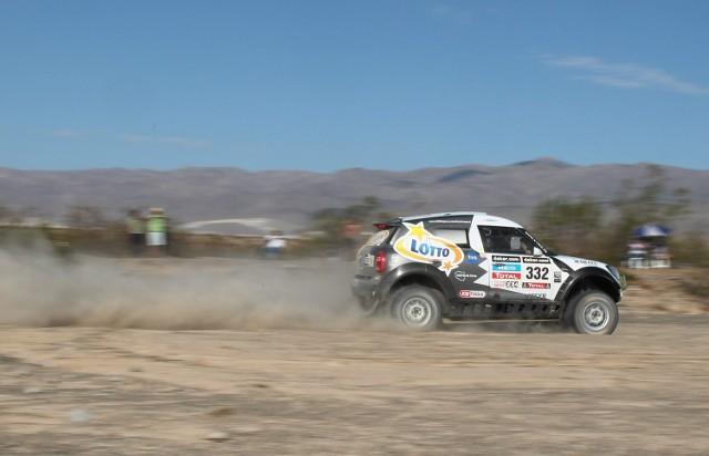 Niespełna 24-letni Martin Kaczmarski to najmłodszy uczestnik Rajdu Dakar 2014.