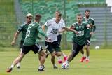 Śląsk zagrał pierwszy mecz po przerwie związanej z epidemią (ZDJĘCIA)