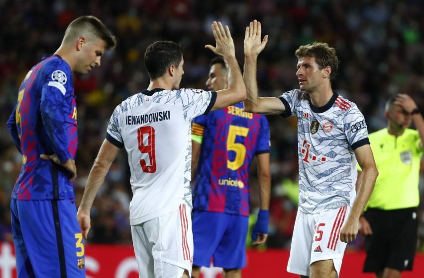 Dublet Lewandowskiego na Camp Nou, Bayern wygrywa