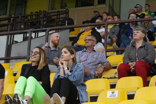 Kibice na meczu GKS Katowice - Widzew ŁódźZobacz kolejne zdjęcia. Przesuwaj zdjęcia w prawo - naciśnij strzałkę lub przycisk NASTĘPNE