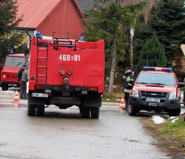 Strażaków nie może zabraknąć tam, gdzie dzieje się coś złego