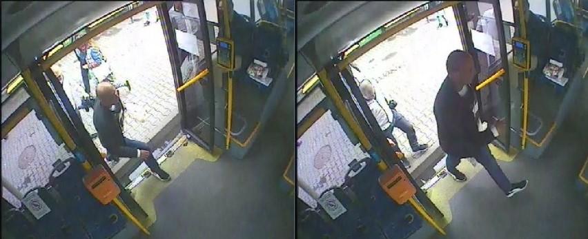 Monitoring autobusu linii 50