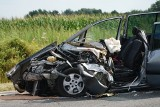 Straszny wypadek na obwodnicy w Murowanej Goślinie. Trzy osoby trafiły do szpitala