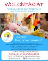 Podziel się uśmiechem – zostań wolontariuszem Fundacji Dr Clown w Opolu
