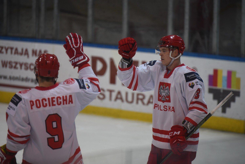 72a5f1cabd011 Polscy hokeiści są już gotowi na mecz z Włochami.<br>fot. maciej